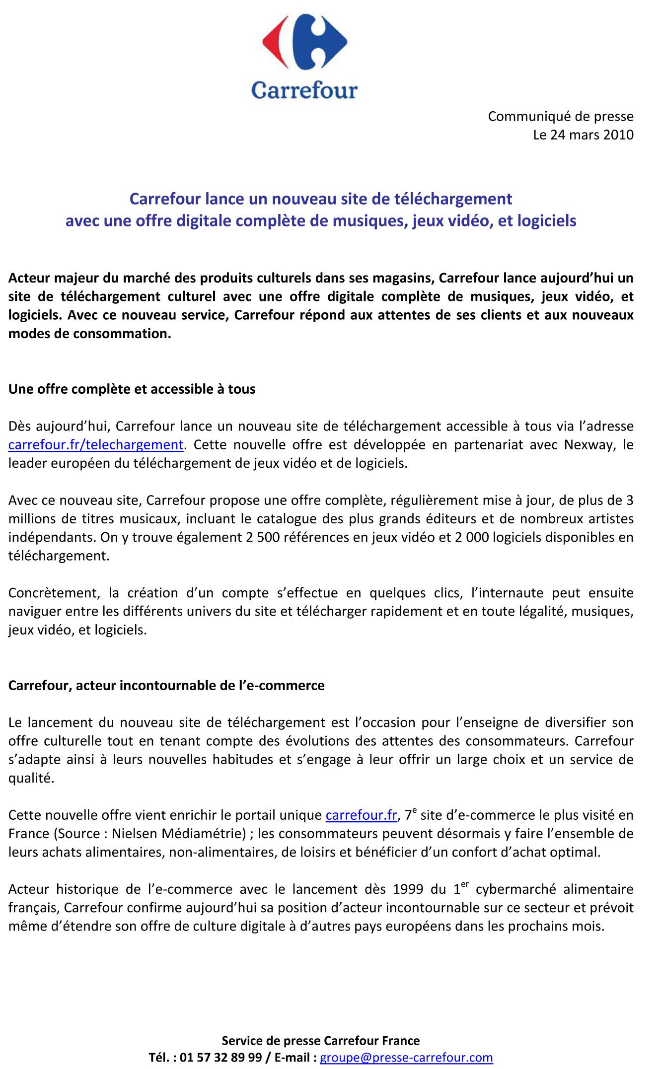 Carrefour préfigure le futur de l'hyper