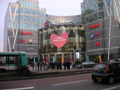Kremlin Bicêtre : le premier Auchan depuis 10 ans
