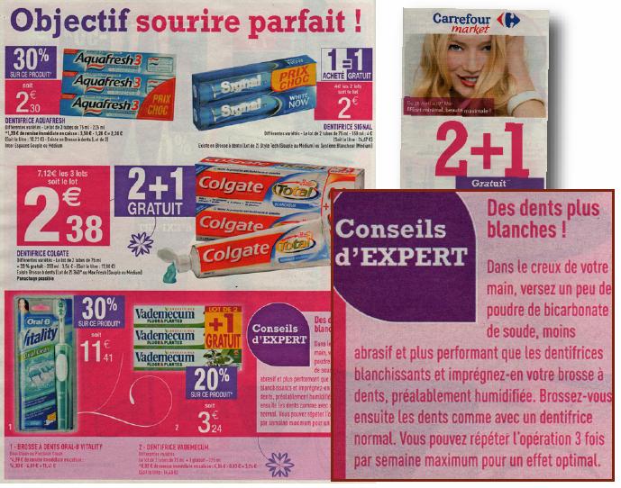 La coopération commerciale selon Carrefour Market