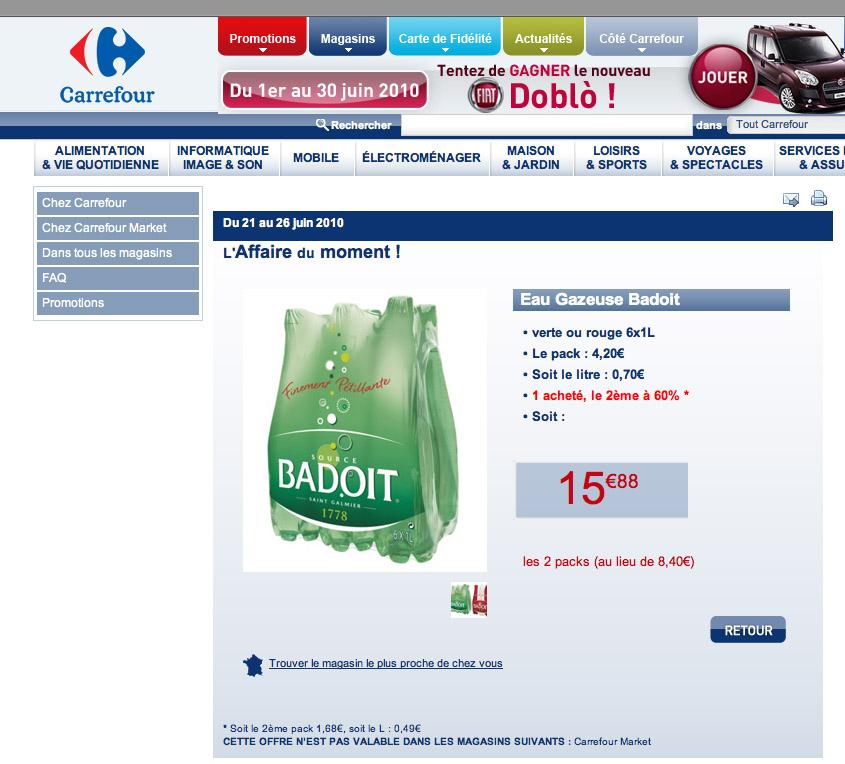Les mauvais comptes de Carrefour