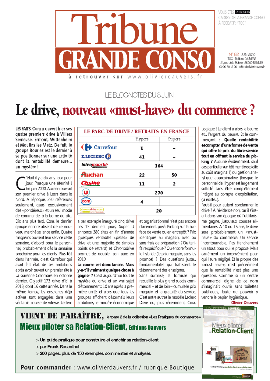 Le drive, nouveau «must-have» du commerce ?
