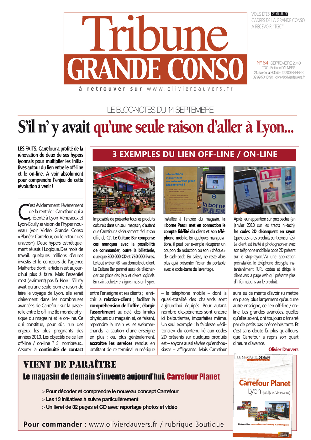 Carrefour Planet : s'il n' y avait qu'une seule raison d'aller à Lyon…