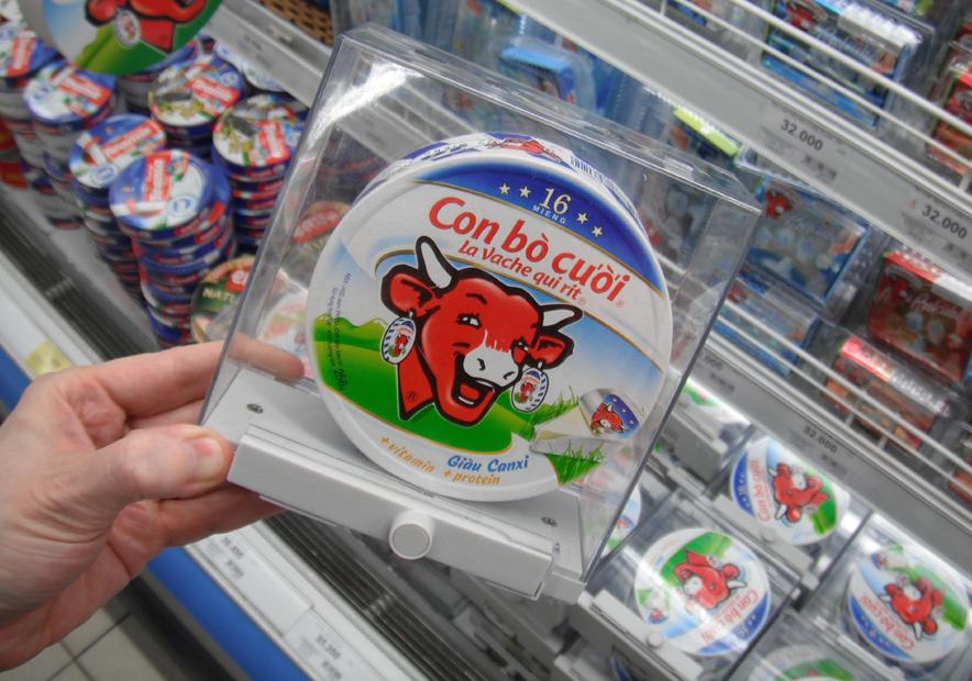 Pourquoi la Vache qui Rit est sous coque ?