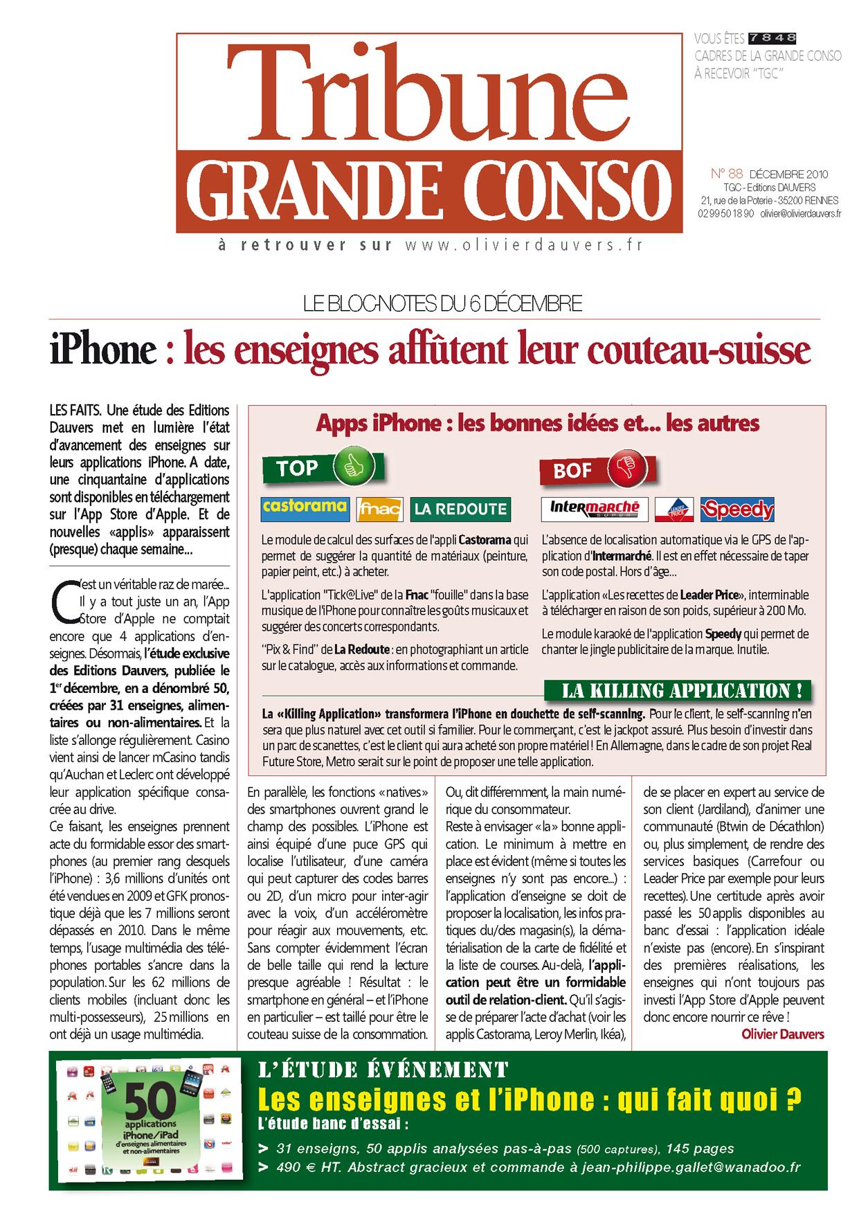 iPhone : les enseignes affûtent leur couteau-suisse