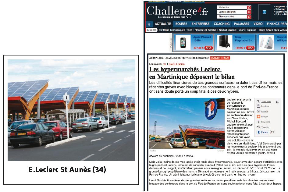 Leclerc : de Montpellier à la Martinique