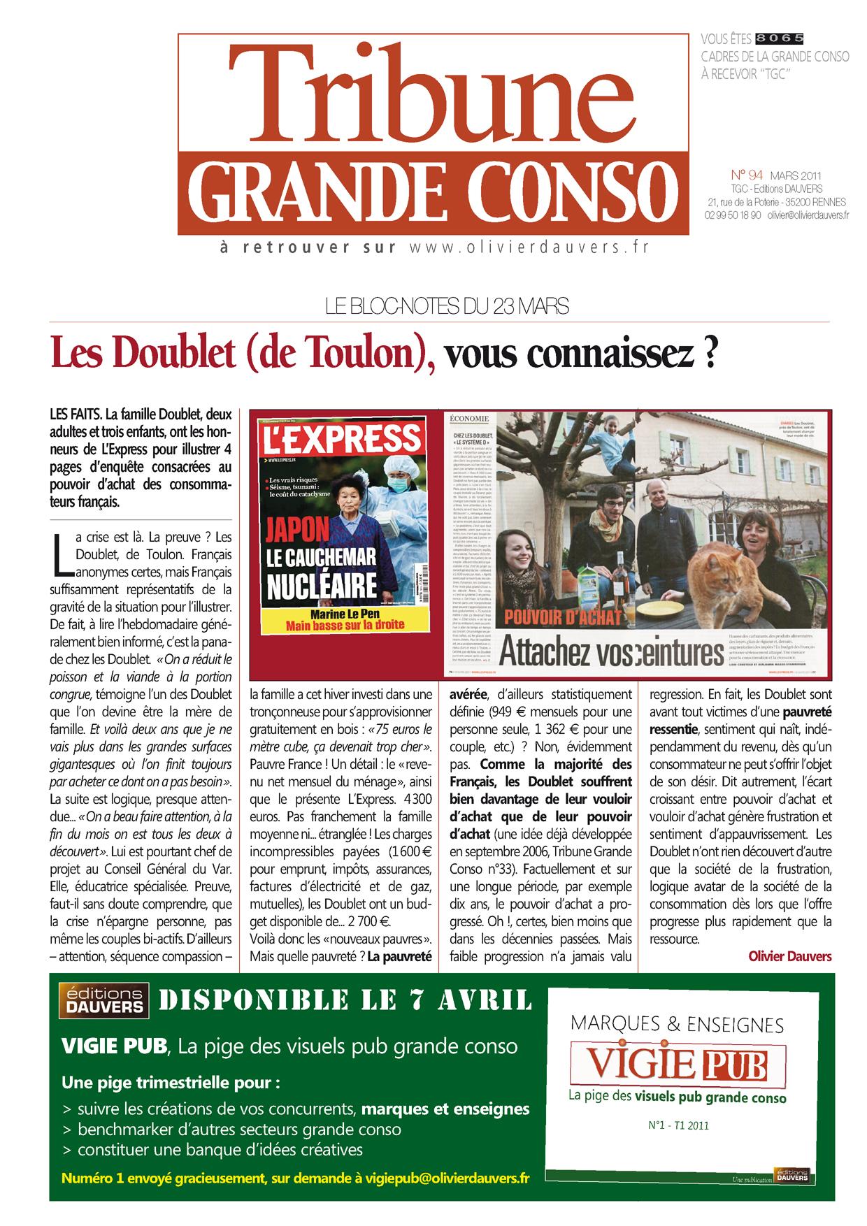Les Doublet (de Toulon), vous connaissez ?