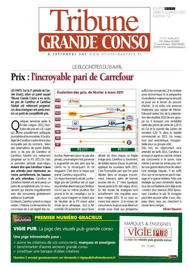 Prix : l'incroyable pari de Carrefour
