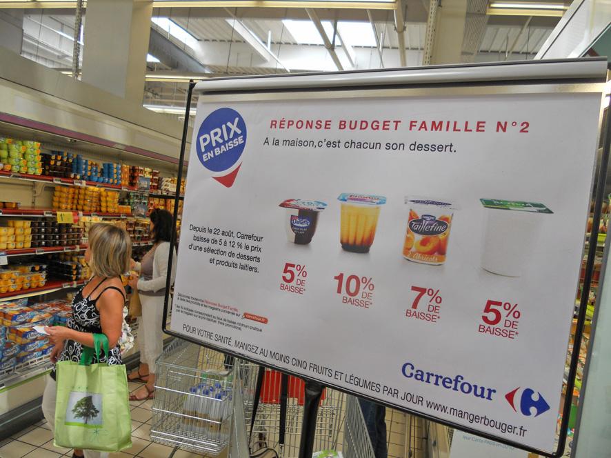 Carrefour : le relais magasin des baisses de prix