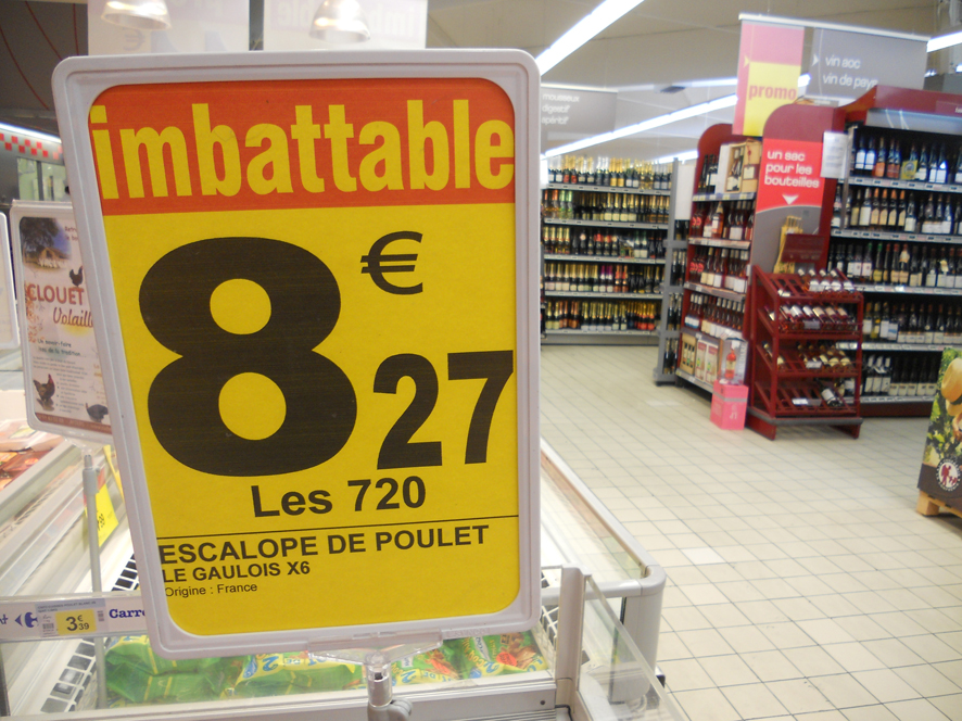 Imbattables escalopes de poulet