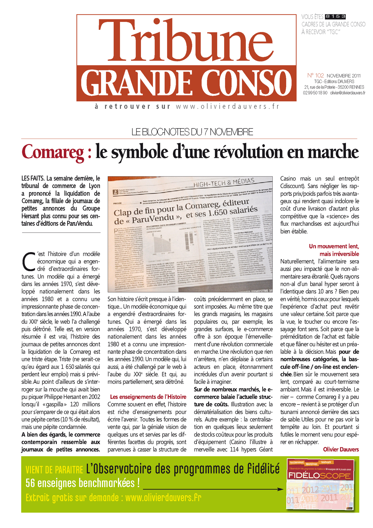 Comareg : le symbole d'une révolution en marche