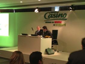 """""""Live report"""" : les résultats 2011 Casino"""