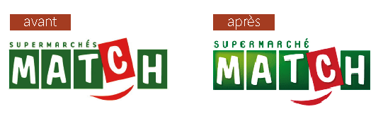 Un nouveau logo pour Match