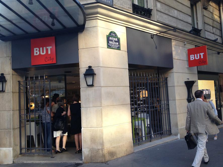 But en modèle City pour Paris