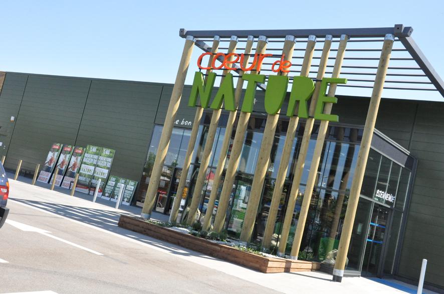 Auchan ouvre Cœur de Nature demain à Bretigny
