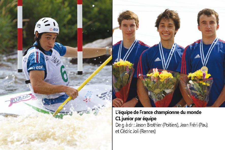 Jean Fréri champion du monde de canoé !