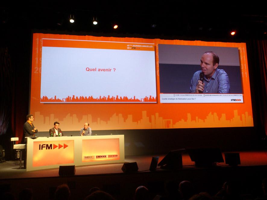 Face à l'IFM (1) : Régis Schultz, président de But
