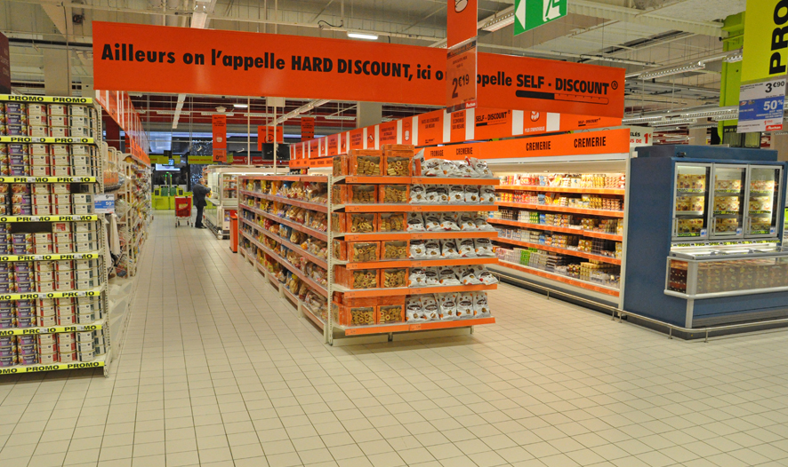 Auchan: proximity marketing and a cool app