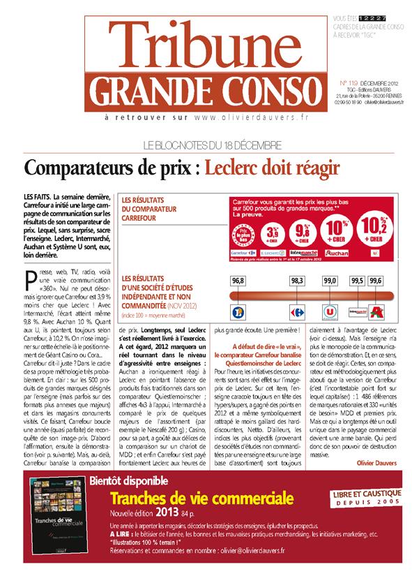 Comparateurs de prix : Leclerc doit réagir
