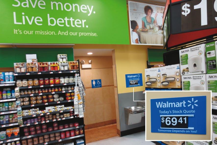Walmart bourse