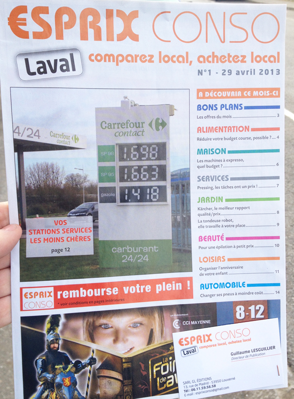 L'esprit RENNES CONSO souffle à Laval