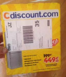 Carton CDiscount