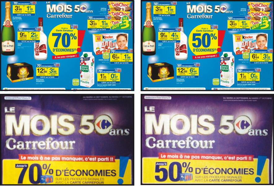 Discount Variable Le Mois Carrefour