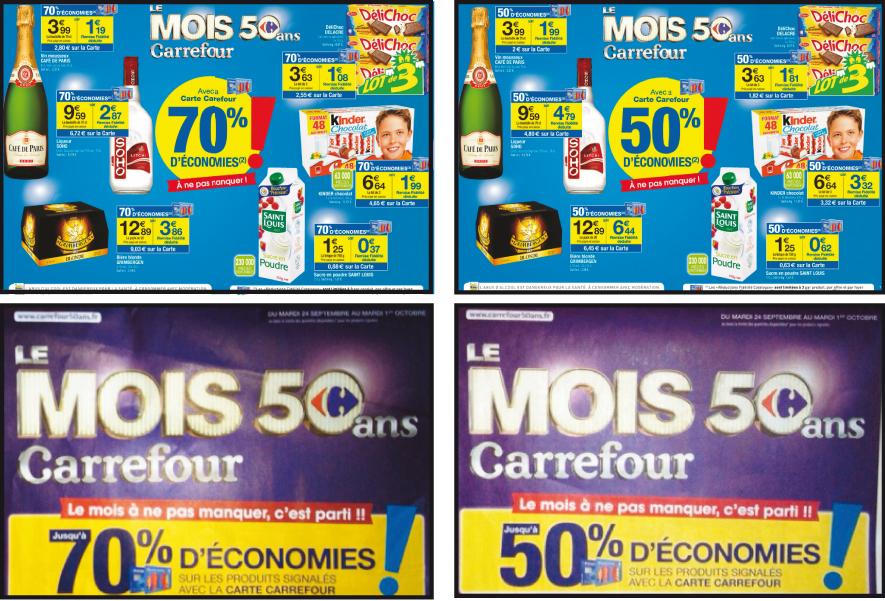 Discount Variable Le Mois Carrefour
