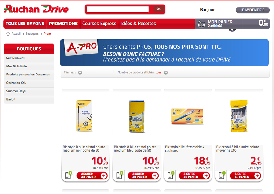 AuchanDriveA-Pro