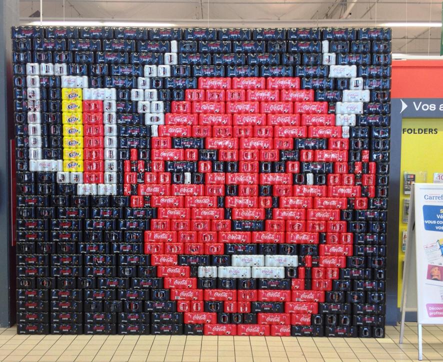 Coca-Cola, médaille d'or de la théatralisation