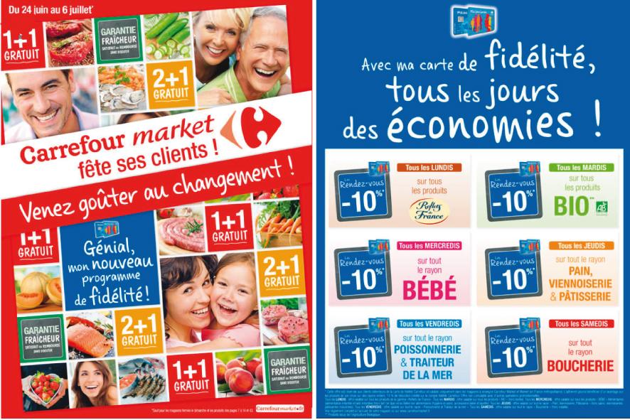 Carrefour Market : le changement (de programme de fid), c'est maintenant