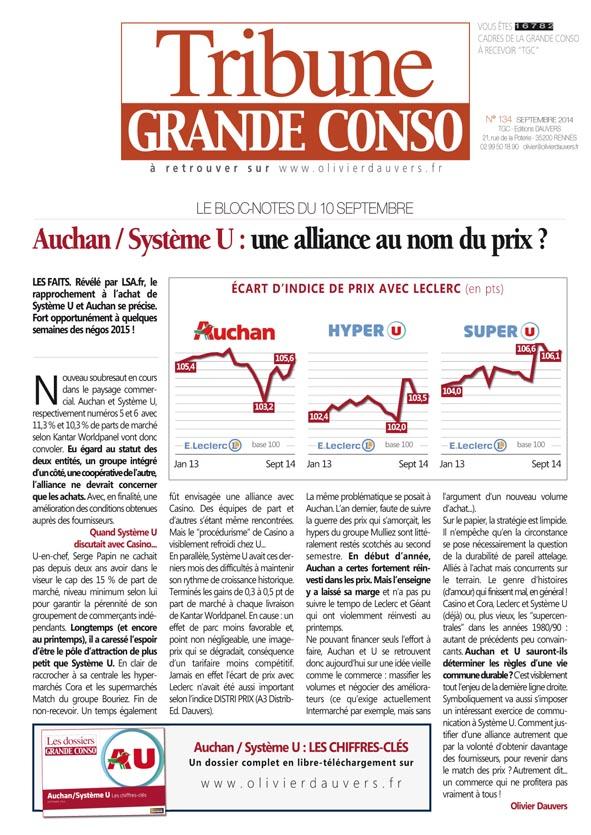 Auchan / Système U : une alliance au nom du prix ?