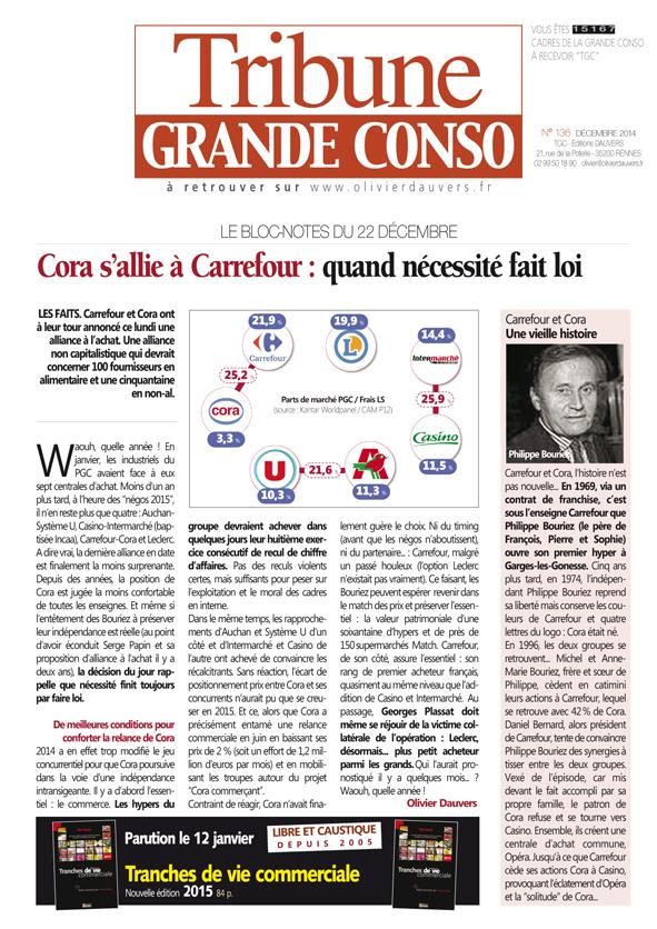 Cora s'allie à Carrefour : quand nécessité fait loi
