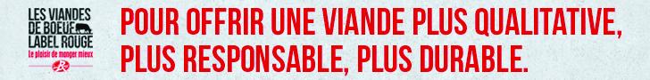 Les viandes de boeuf Label Rouge