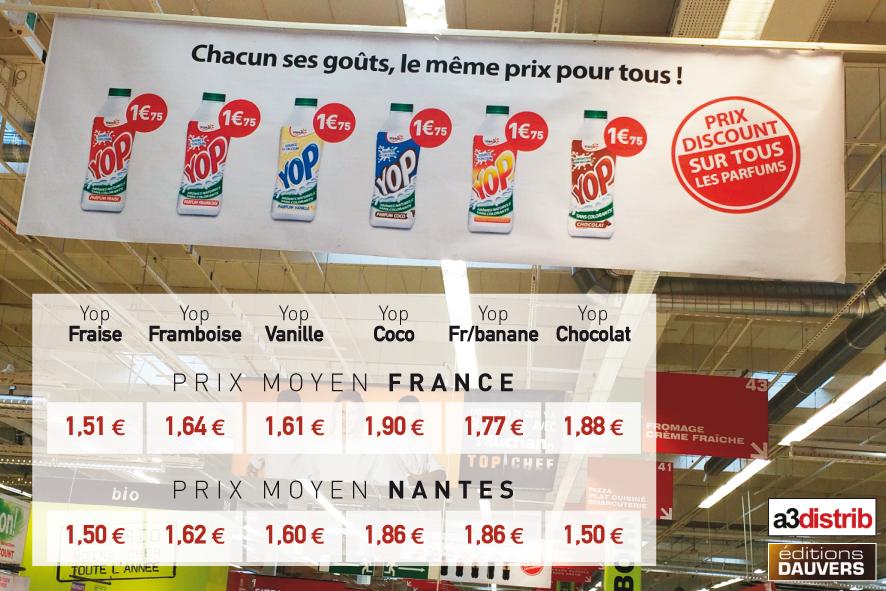 Auchan Yop Prix