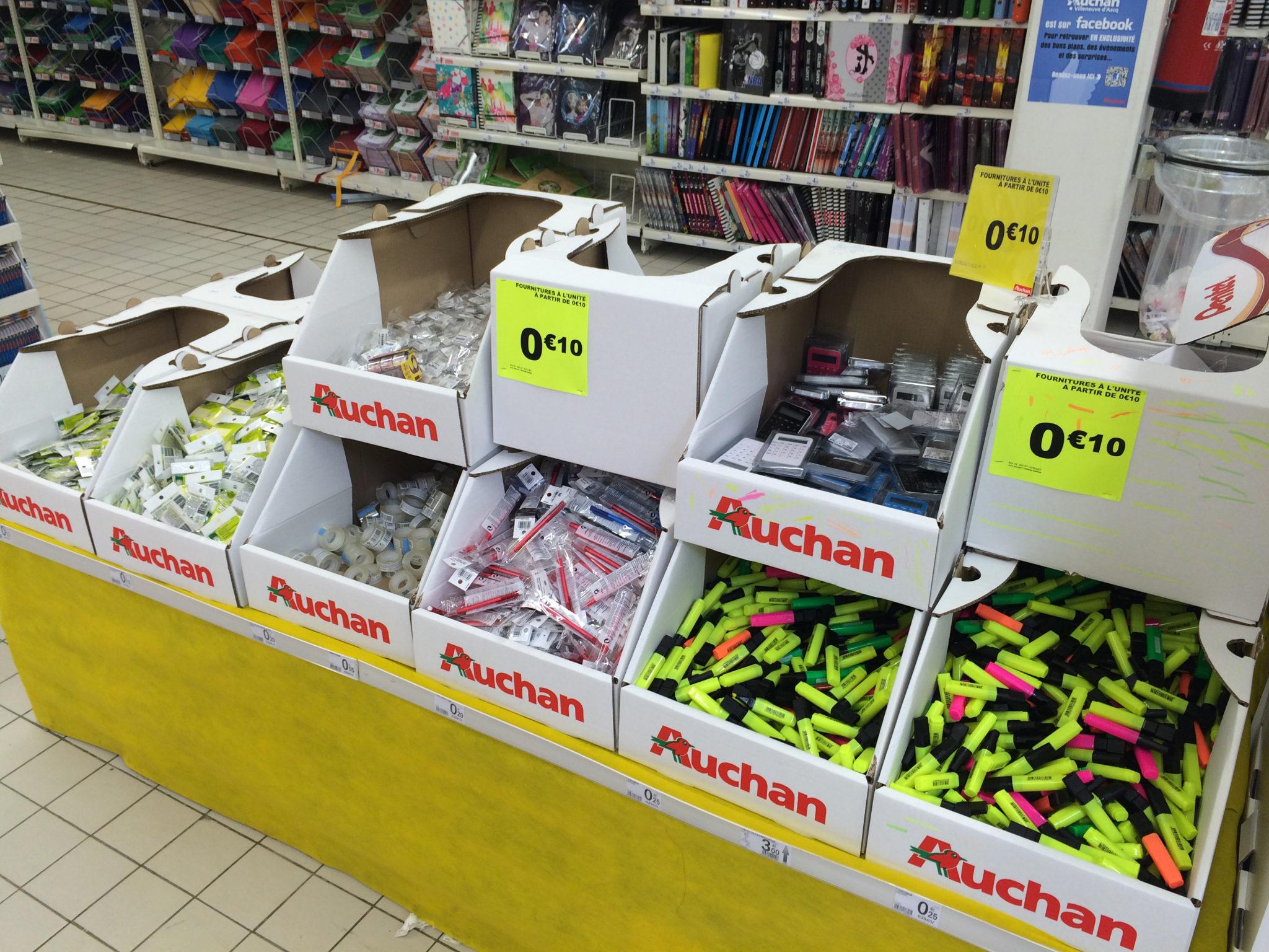 Auchan Fournitures Vrac 1