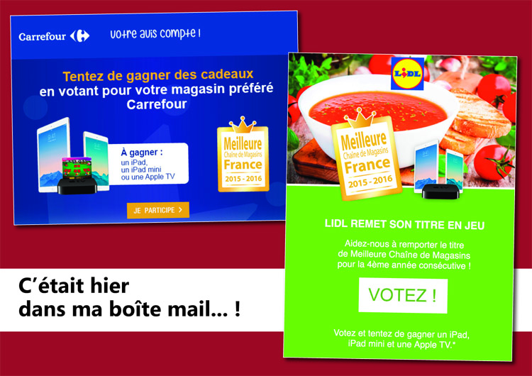 Duel Lidl Carrefour