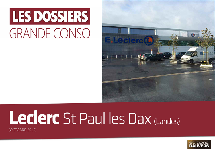 La visite leclerc saint paul les dax 40 olivier dauvers for Piscine st paul les dax