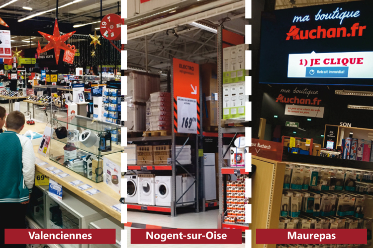 Auchan les tests