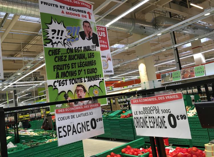 Auchan Martigues Chef on est mal