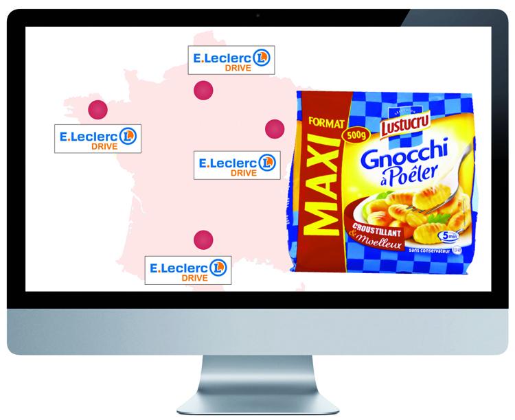 Gnocchi Carte de France Leclerc