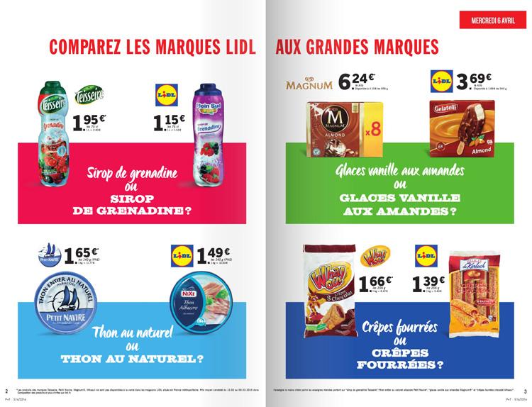 Comparaison de prix quand lidl copie aldi olivier dauvers - Comparateur de prix demenageur ...