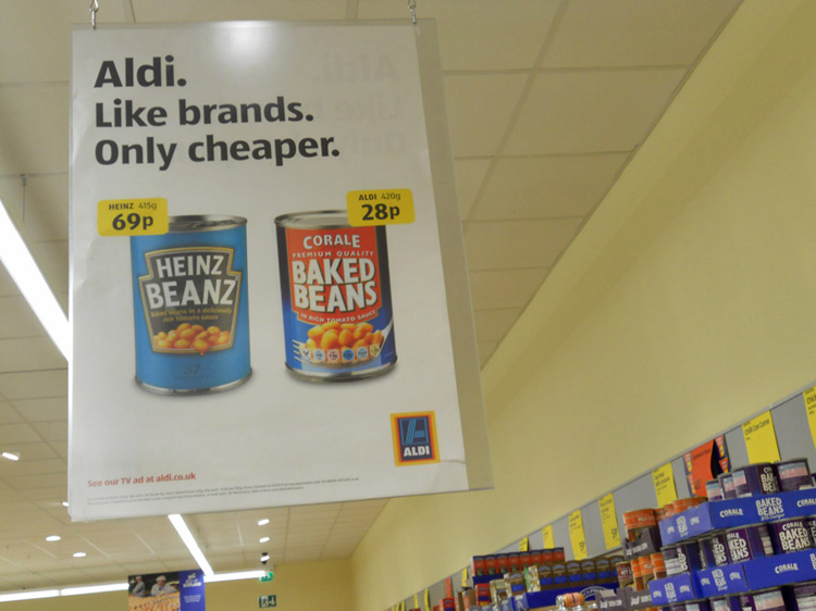 Lidl pub comparative inspiration Aldi