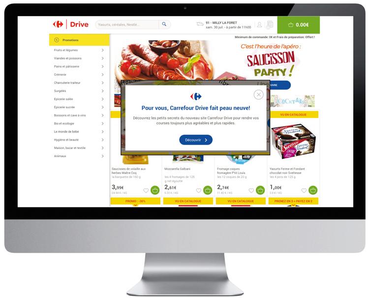 Carrefour Nouveau site
