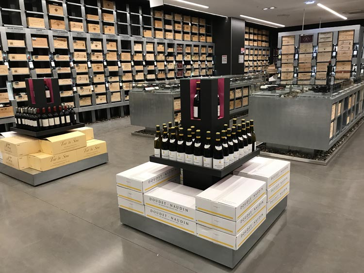 la cave leclerc roques les premi res images olivier dauvers. Black Bedroom Furniture Sets. Home Design Ideas