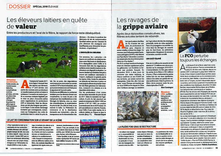 La France Agricole Mercredi