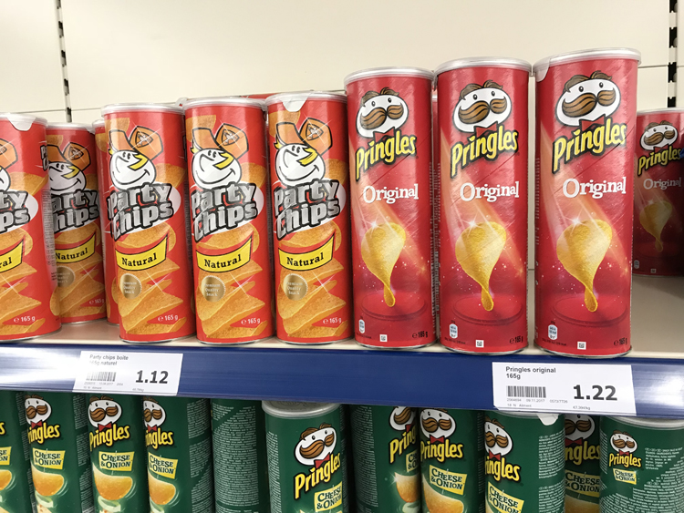 Pringles Action