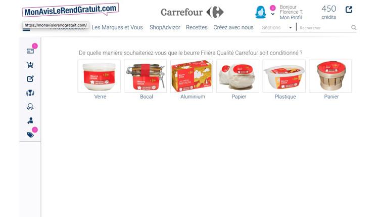 Carrefour beurre FQC annexe 2