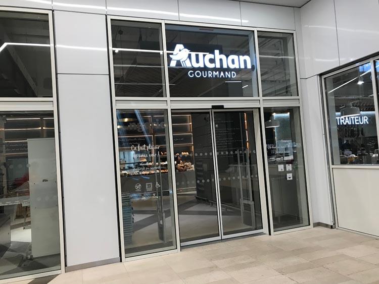 Auchan Gourmand Facade