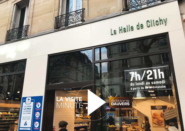 Visite Minute Halle de Clichy