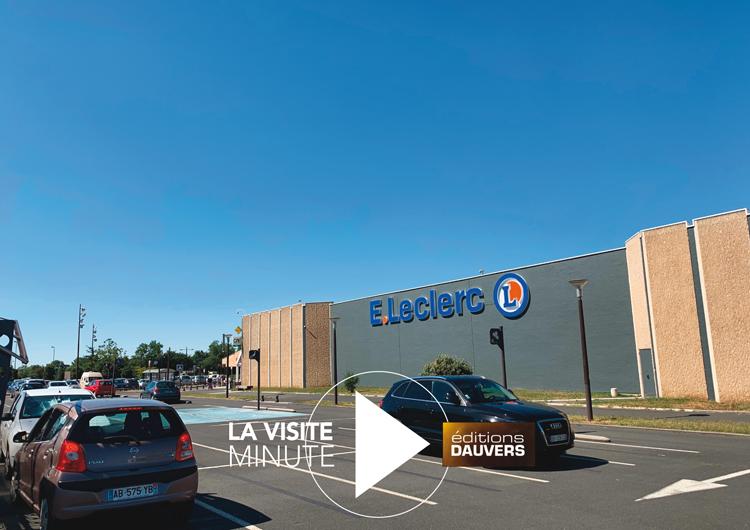 Leclerc Castres visite minute